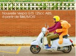 Offre Nouvelle Vespa GTS 125cc ABS